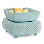 Sky Blue Chevron Electric Tart Warmers