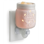 Mason Jar Porcelain Plugin Tart Warmers