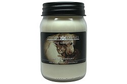 Pet Odor Eliminator Mason Jar Soy Candles - 16oz (Yellow Lab Label)