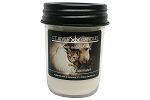 Pet Odor Eliminator Preserver Jar Soy Candles - 8oz (Yellow Lab Label)